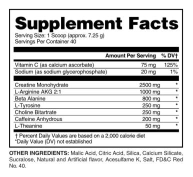 Evogen EVP-X Orange Mango 288 Gram Nutrition