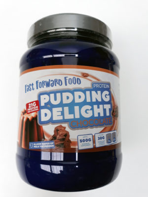Fast Forward Nutrition Pudding Delight 500 Gram Choco