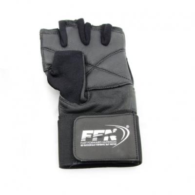 Fast Forward Nutrition fitness handschoenen met wristwrap