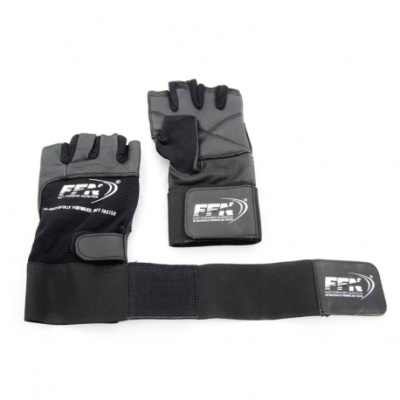 Fast-Forward Nutrition fitness handschoenen met wristwraps
