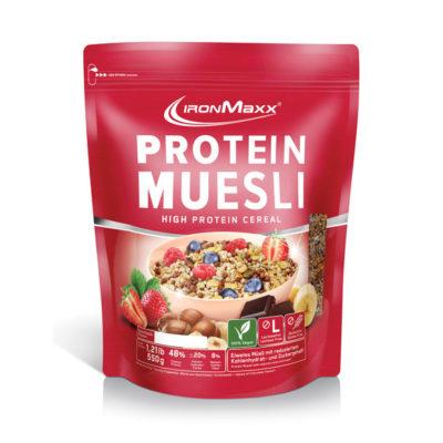 Ironmaxx Protein Muesli 550g Aardbei