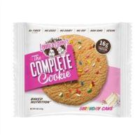 Lenny & Larry's Complete Cookie – 12×113 Gram, Birthday Cake