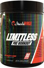 Muscle Rage Limitless Pre-Workout 30 Servings
