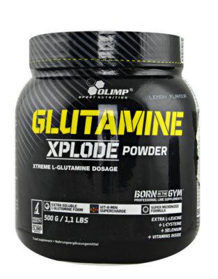 Olimp Glutamine Xplode 500 Gram Lemon