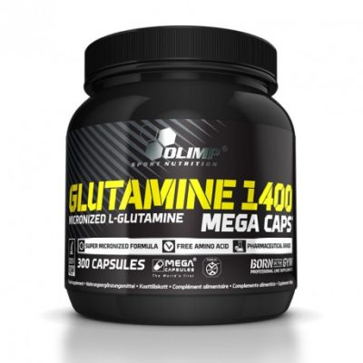 Olimp sport nutrition l-glutamine mega caps