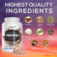 Organifi Complete Protein Shake Chocolate 1228 Gram