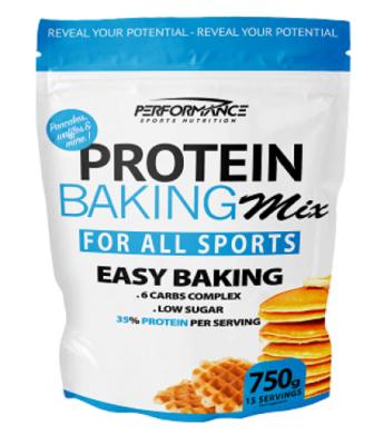Performance Nutrition baking mix 750 gram