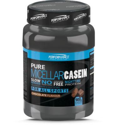 Performance Nutrition casein eiwitpoeder 900 gram