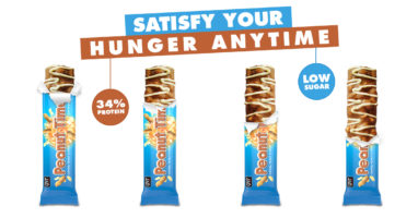 QNT-Protein Bar Peanut Time 12×60 Gram