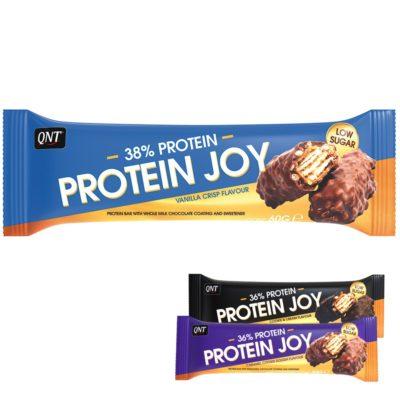 QNT Protein Bar Joy Bar 12x60 Gram Mix