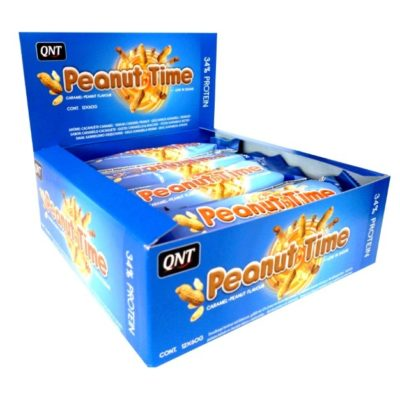 QNT Protein Bar Peanut Time 12x60 Gram