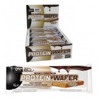 QNT Protein Wafer Bar 12x35 Gram Choco