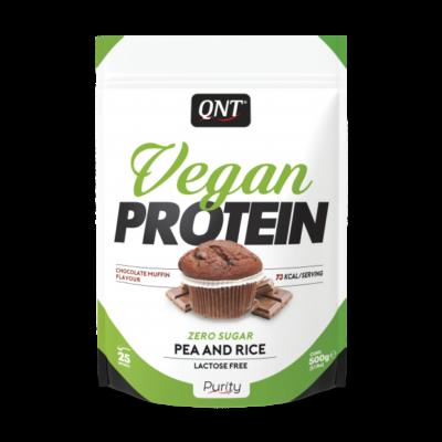 QNT Vegan Protein Chocolate Muffin 500 Gram