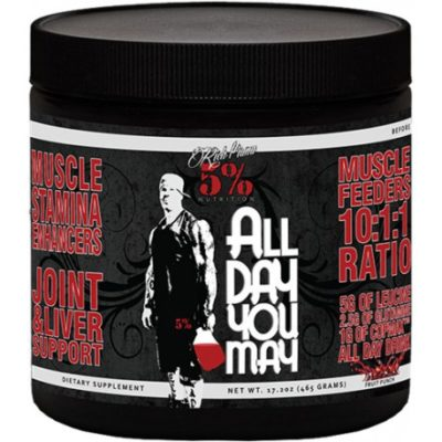 Rich Piana 5 Procent Nutrition all day you may
