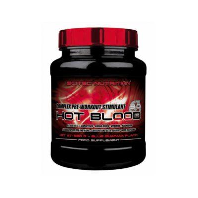 Scitec Hot-Blood Pre Workout 300 Gram Blood Orange