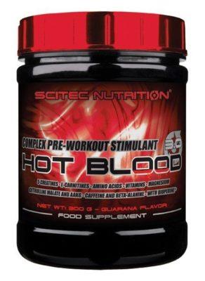 Scitec Hot Blood Pre Workout 300 Gram Blood Orange ok