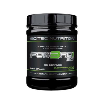 Scitec Pow3rd! Pre Workout 350 Gram Apple