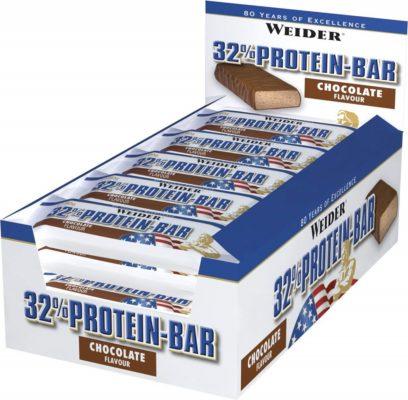 Weider 32 Procent Protein Bar 24x60 Gram
