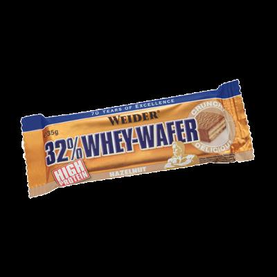 Weider 32 Procent Whey Wafer Protein Bar 24x35 Gram