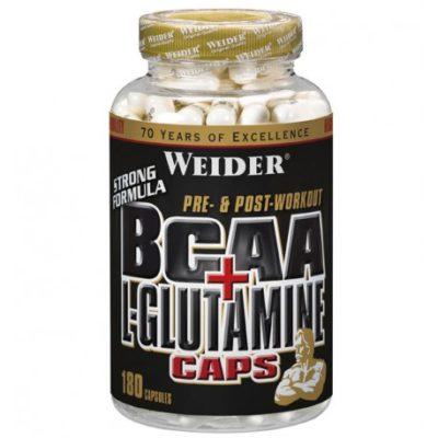Weider bcaa l-glutamine