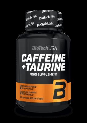 BiotechUSA Caffein Taurine 60 Caps