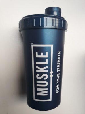 Muskle Shaker 700 ML Blauw