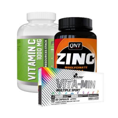 Muskle Promo Ffn Vitamin C Qnt Zinc Olimp Vitamin