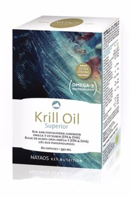 Nataos Krill Oil Superior Omega 3 Vetzuren 60 Caps