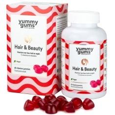 Yummy Gums Hair And Beauty 60 Gummies