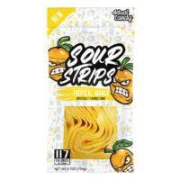 Actual Candy Sour Strips – 104 Gram, Tropical Mango