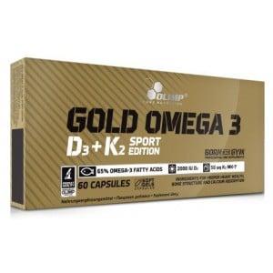 Olimp Gold Omega 3 D3 K2 Sport Edition 60 Softgels