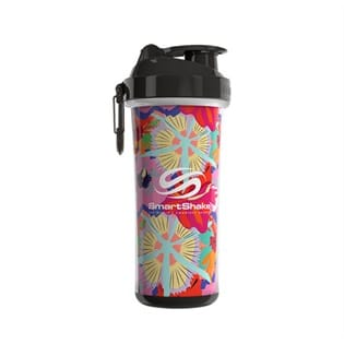 Smart Shake Double Wall 750 ML Flower Power