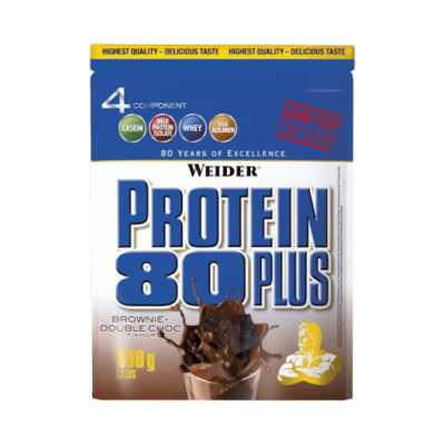 Weider Protein 80 Plus 500 Gram Brownie Double Choco