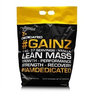 Dedicated Nutrition Gainz Vanilla 4kg