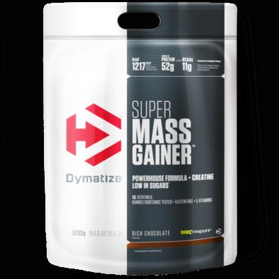 Dymatize Super Mass Gainer 5200 Gram Rich Chocolate