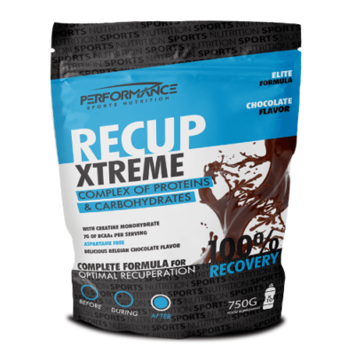 Performance Recup Xtreme Chocolate 750 Gram