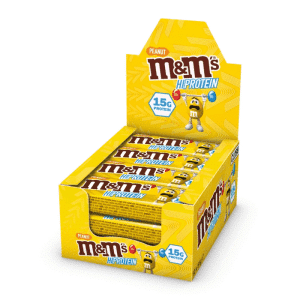 MnMs Hi Protein Bar Peanut 12x51 Gram