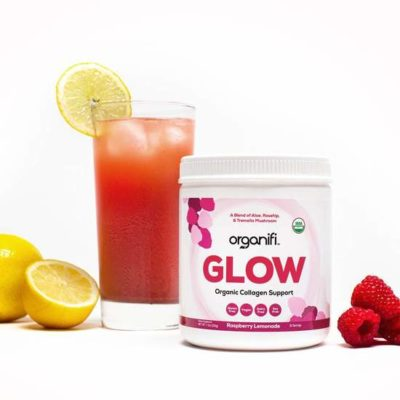 Organifi Glow Collageen 204 Gram Raspberry Lemonade