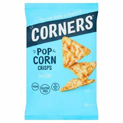Corners Pop Crisps Sea And Salt 85 Gram