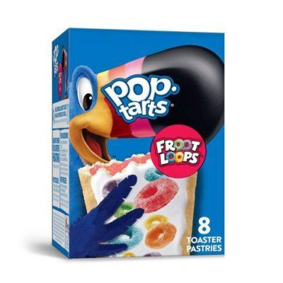 Kellogg's Pop Tarts Fruit Loops 382 Gram