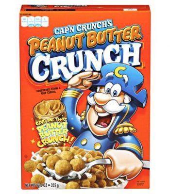 Quaker Cap'n Crunch Peanut Butter 355 Gram