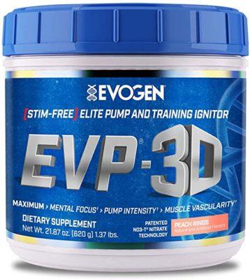 Evogen EVP 3D Pre Workout 620 Gram