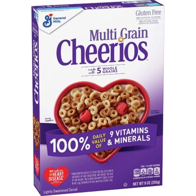 General Mills Cheerios Multi Grain 255 Gram