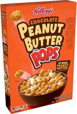 Kellogg's Chocolate Peanut Butter Corn Pops 297 Gram