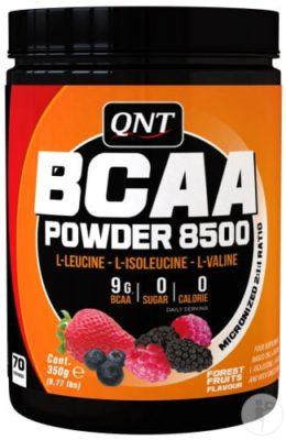 QNT BCAA Powder 8500 Forest Fruit 350 Gram