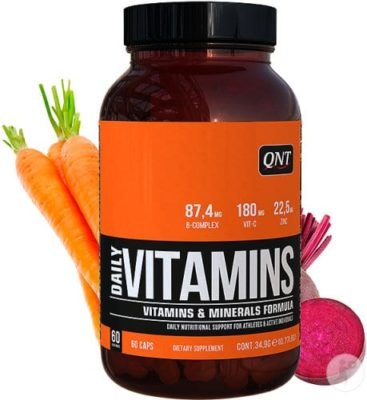 QNT Daily Vitamins 60 Capsules