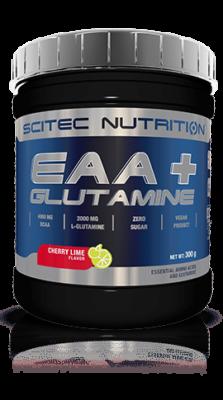 Scitec EAA Glutamine Recuperation Cherry Lime 300 Gram