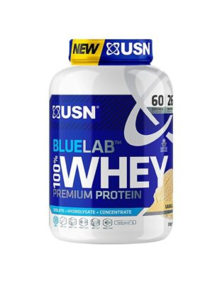 USN Blue Lab 100 Procent Whey Ultra Premium Mix Protein Vanilla 908 Gram