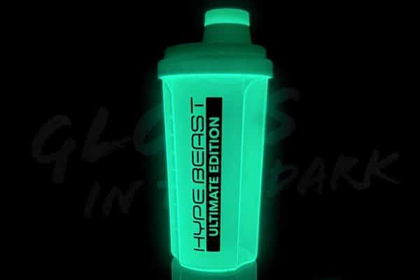 Nano Supps Shaker neon green 500ml